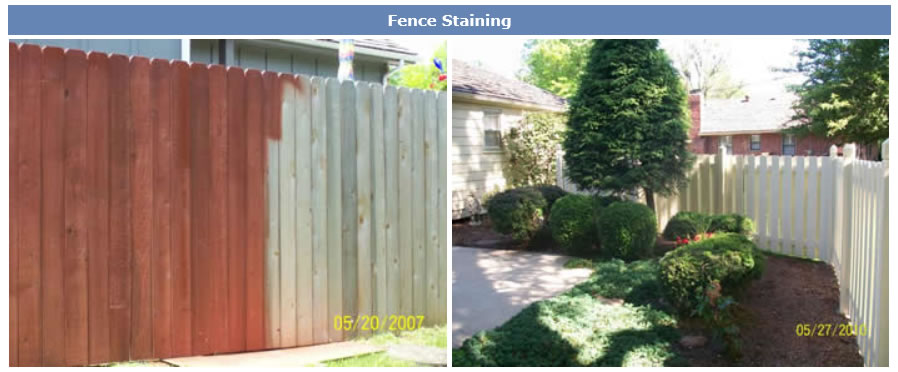 fence-staining