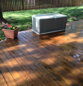 Deck Power Washing – 2