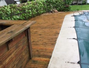 Deck Power Wash – Natural Stain