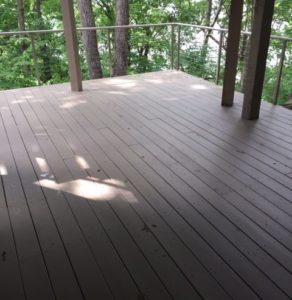 Deck Repair – Solid Stain