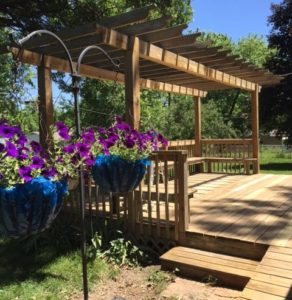 Deck Power Washing – Replacement – Stain